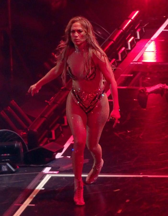 ДжейЛо на сцене