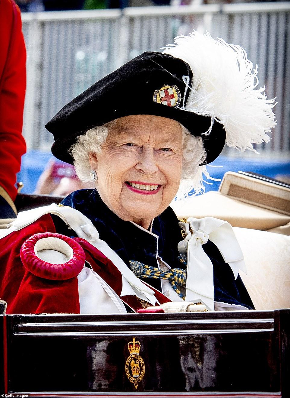 Европейские монархи на церемонии Ордена Подвязки