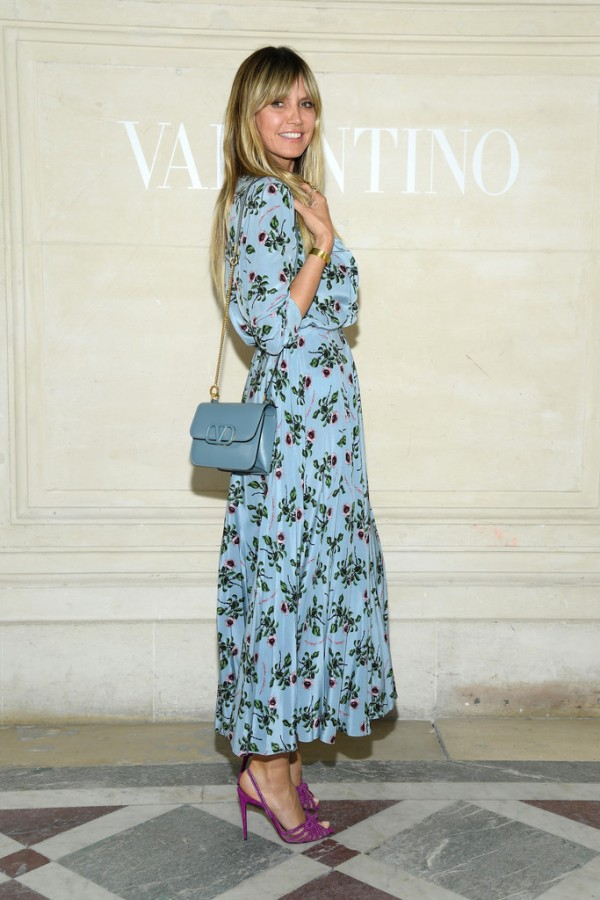 Звезды на показе Valentino Haute Couture