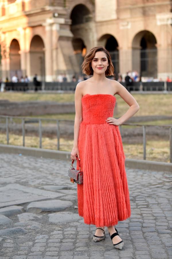 Звезды на модном показе Fendi