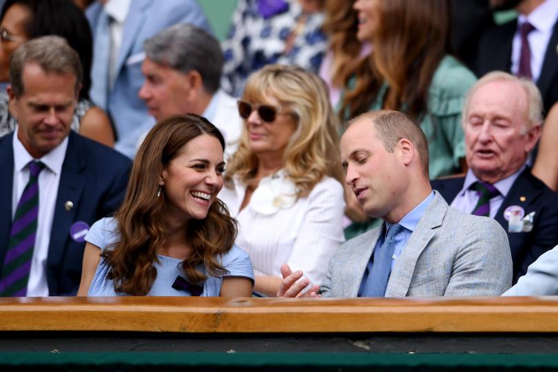 Королевская пара на финале Уимблдона