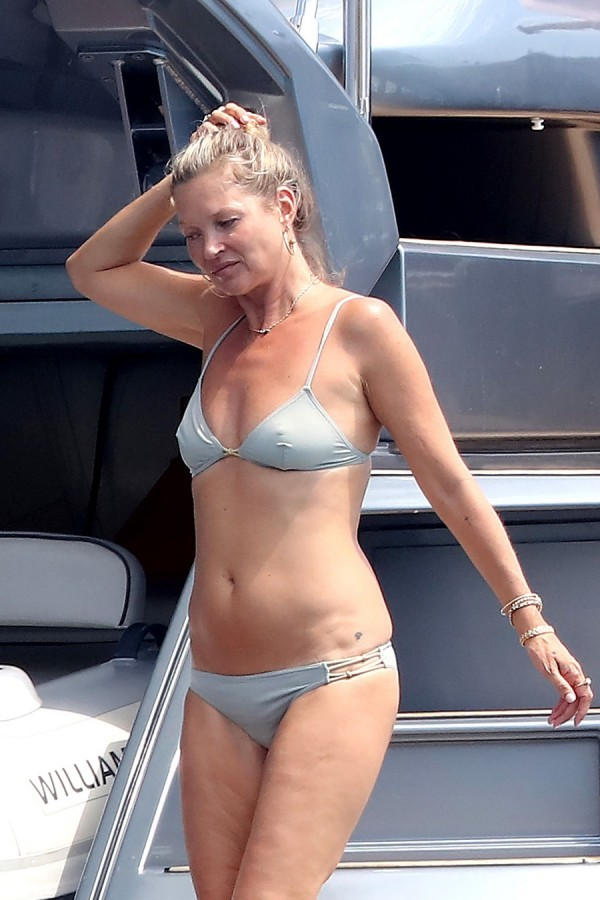 Кейт Мосс на отдыхе kate moss,пляж/бикини