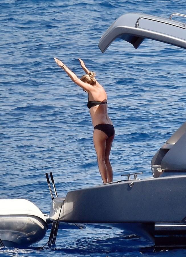 Кейт Мосс на отдыхе
