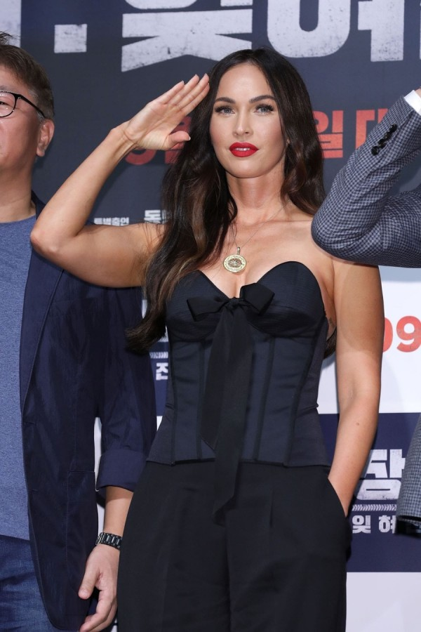 Меган Фокс презентует новый фильм в Сеуле