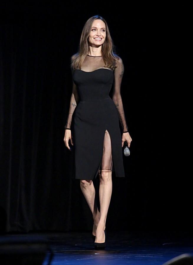 Джоли на D23 Expo 2019