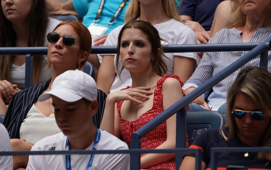 Звезды на US Open в НЙ