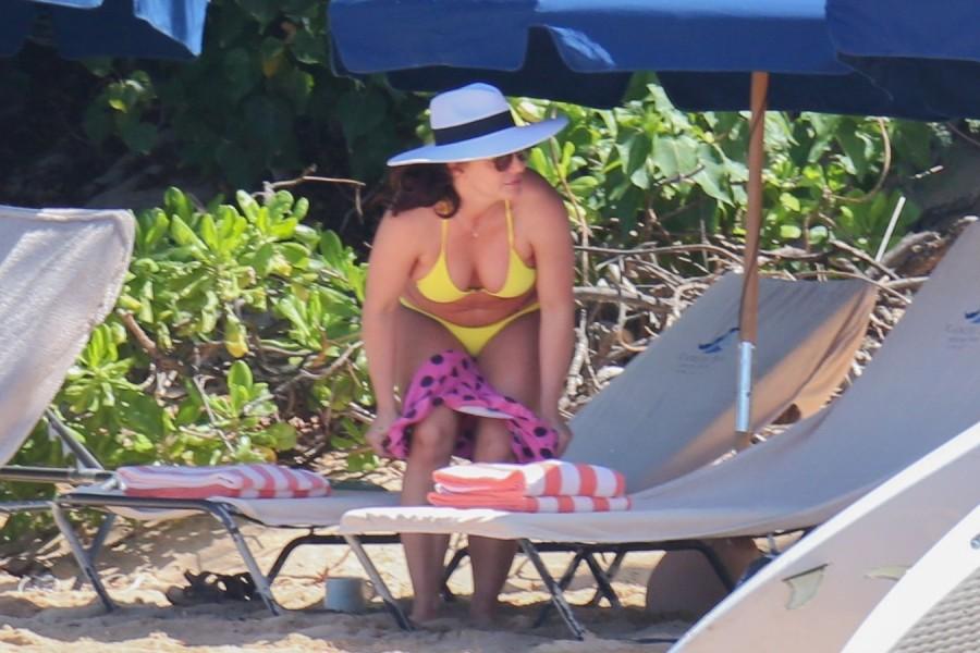 Бритни Спирс на пляже