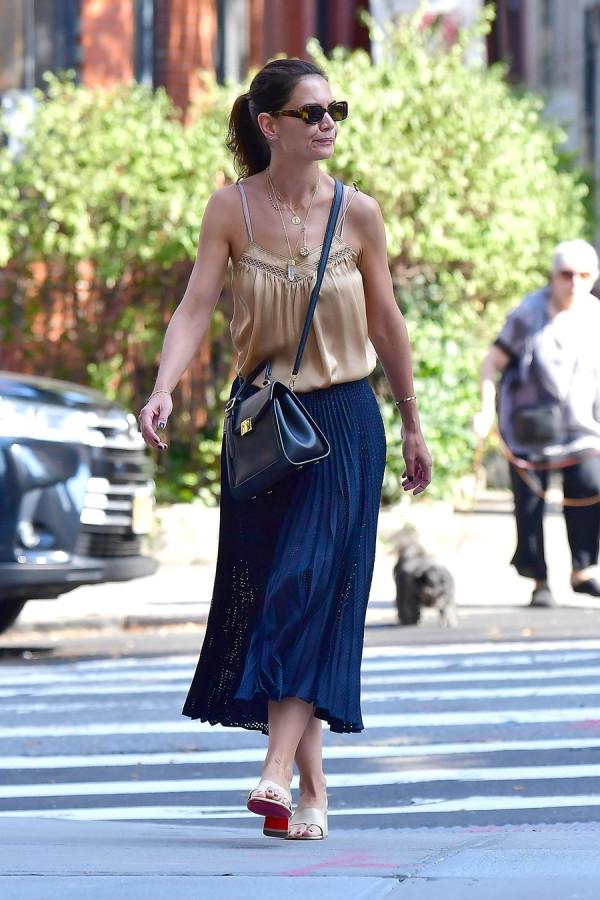 Уличный стиль Кэти Холмс