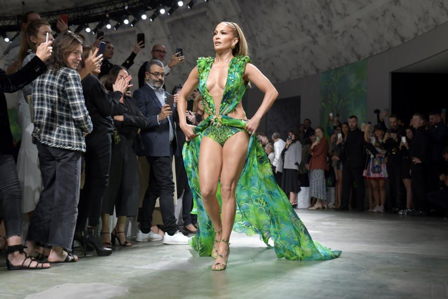Дженнифер Лопес на Milan Fashion Week