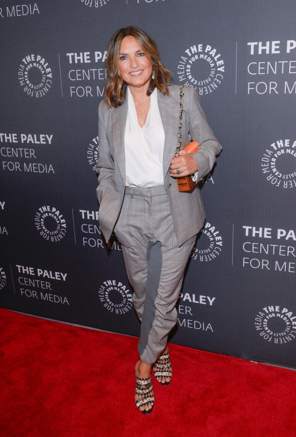 "Актеры отметили выход 21-го сезона сериала ""Law & Order: SVU"" ice t,mariska hargitay"