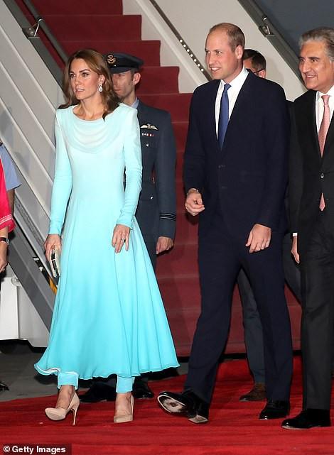 Официальный визит Кейт Миддлтон и принц Уильяма в Пакистан. День 1