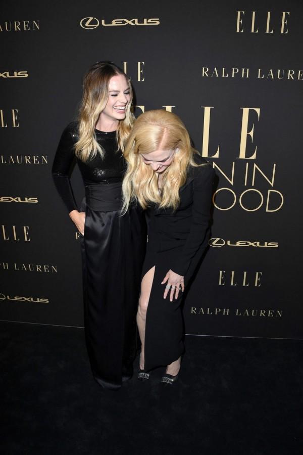 Звезды на церемонии Elle Women in Hollywood gwyneth paltrow,scarlett johansson,margot robbie,nicole kidman,nina garcia