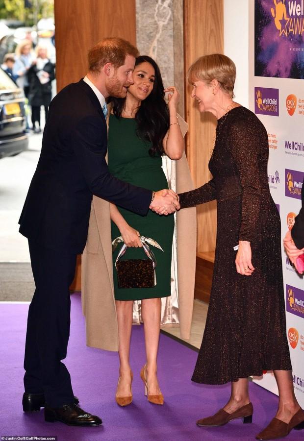 Герцоги Сассекские на церемонии WellChild Awards