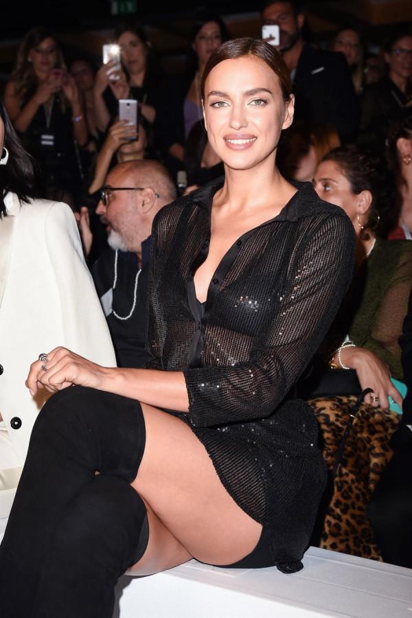 Звезды на модном показе Intimissimi
