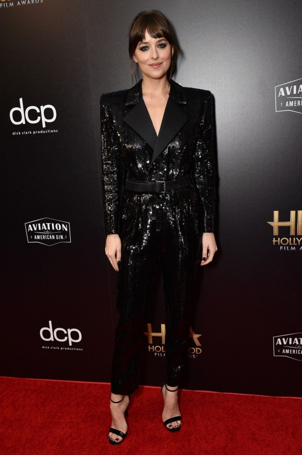 2019 Hollywood Film Awards antonio banderas,dakota johnson