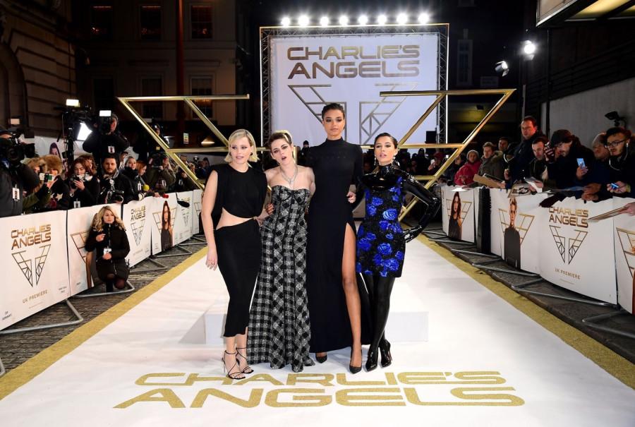 Премьера фильма Ангелы Чарли в Лондоне