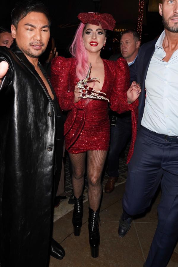 Леди Гага на открытии своего бутика в ЛА lady gaga