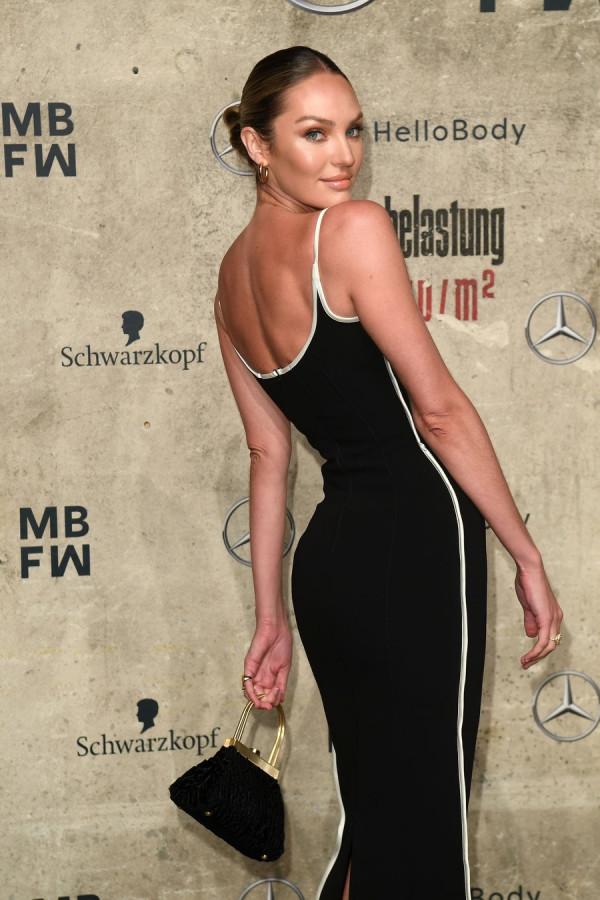Кэндис Свейнпол на неделе моды в Берлине candice swanepoel