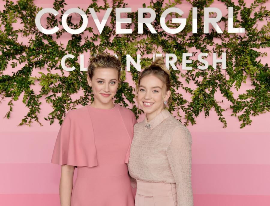 Актрисы на презентации коллекции Covergirl
