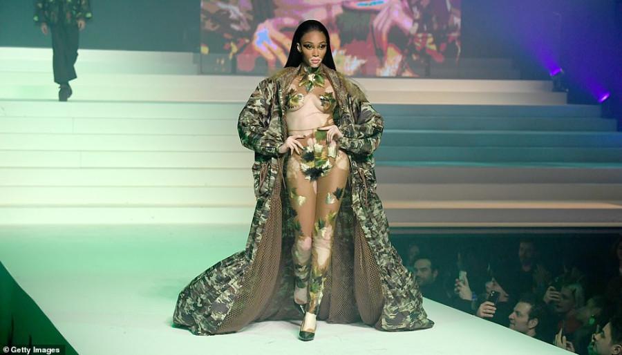 Звезды на показе Jean-Paul Gaultier Haute Couture