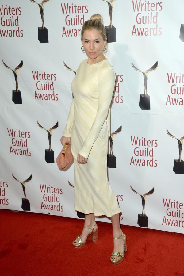 2020 Writers Guild Awards ienna miller