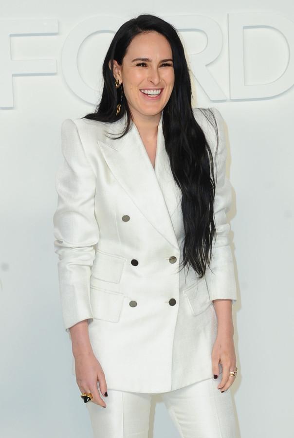 Звезды на модном показе Tom Ford в ЛА rumer willis,taylor hill,rosie huntington-whiteley