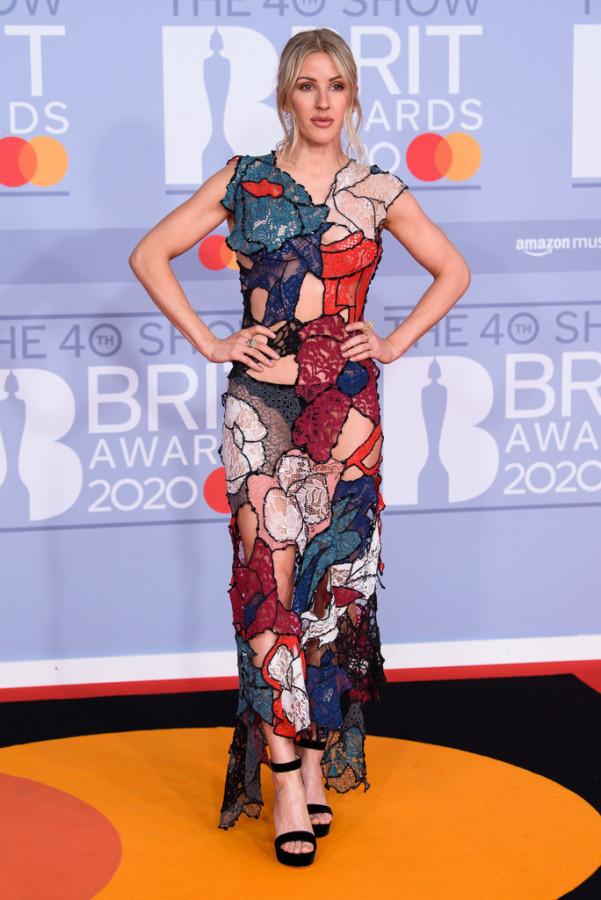 2020 BRIT Awards ellie goulding,charli xcx