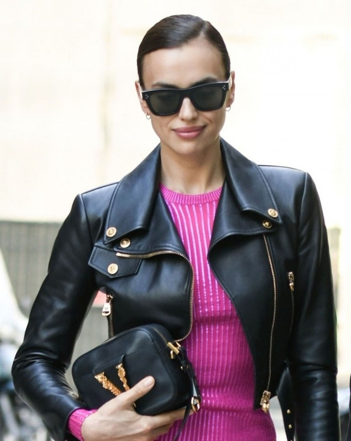 Звезды на Неделе моды в Милане