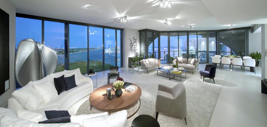 Футуристичный пентхаус Бекхэмов в Майами homesweethome,david beckham,victoria beckham
