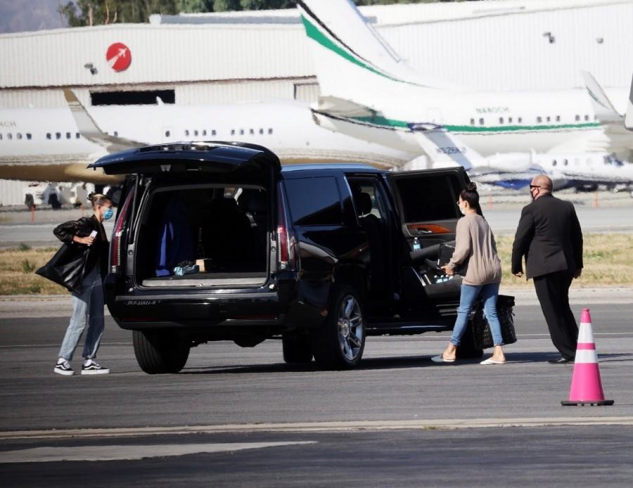 Хейли Бибер вернулась в ЛА