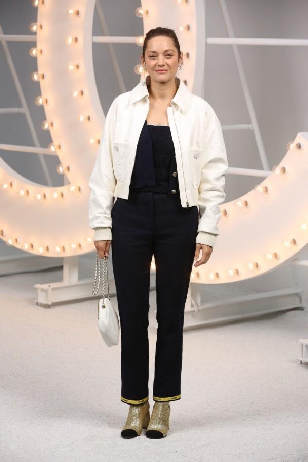 Звезды на Неделе моды в Париже