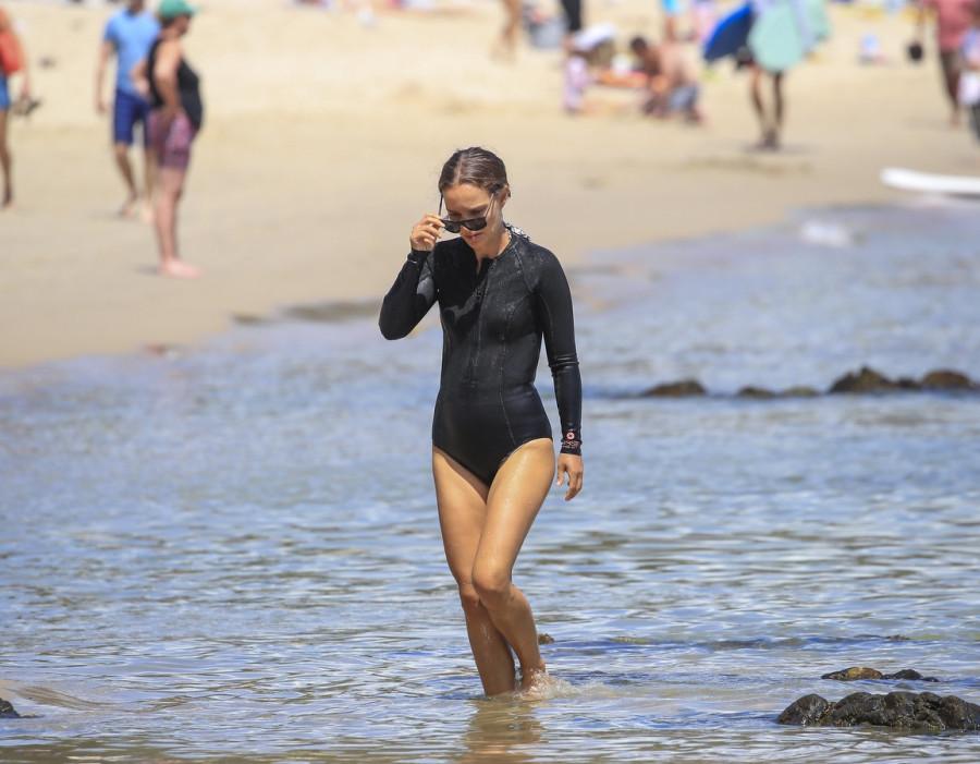 Натали Портман На Пляже