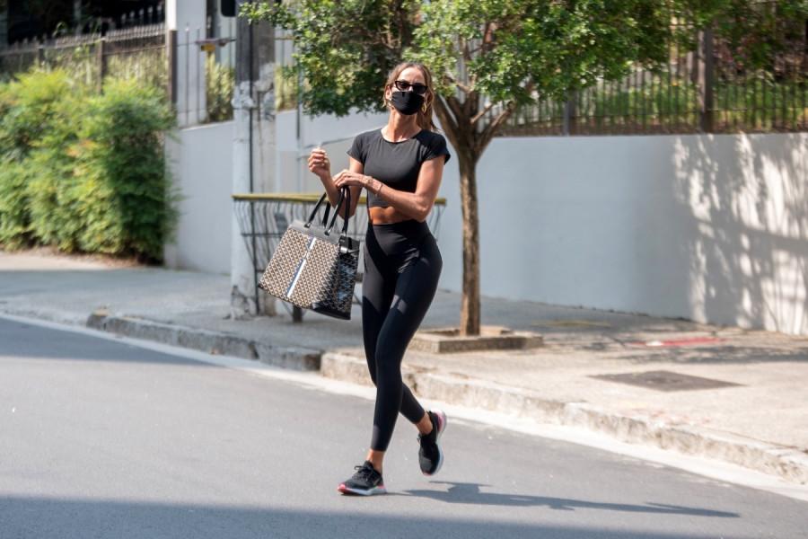 Уличный стиль Изабель Гулар уличный стиль,izabel goulart