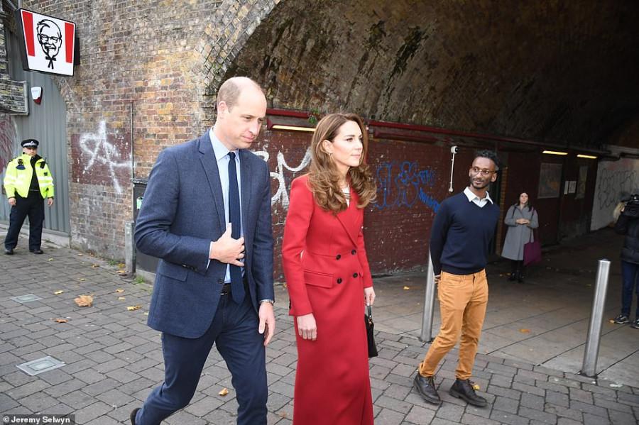 Герцоги Кембриджские посетили больницу Святого Варфоломея