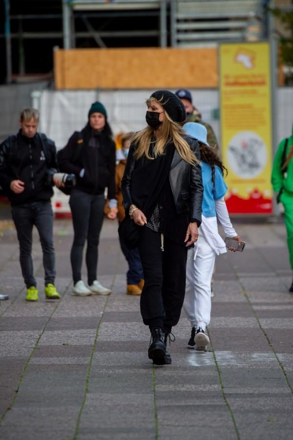 Хайди Клум в Берлине heidi klum