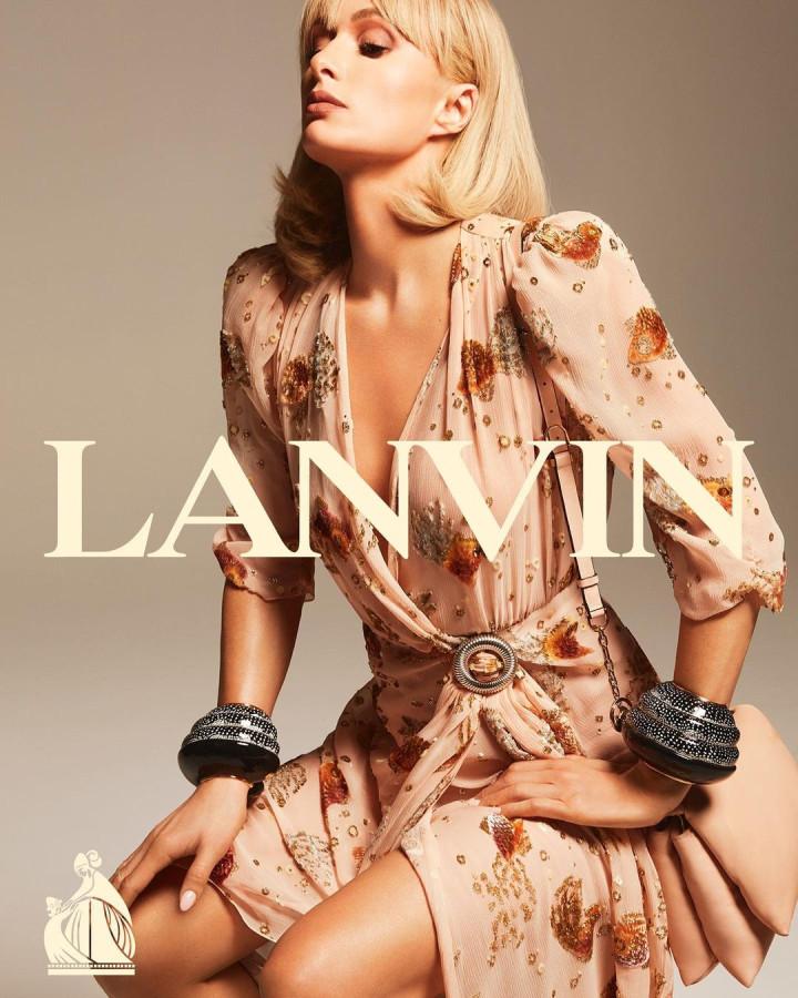 Пэрис Хилтон в рекламной кампании Lanvin video,paris hilton