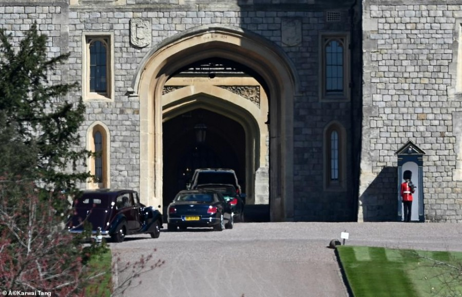 Сегодня прощаются с принцем Филиппом prince philip,kate middleton,prince william,elizabeth ii