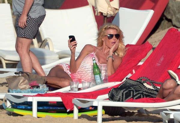 Victoria Silvstedt St Barts_123113_58
