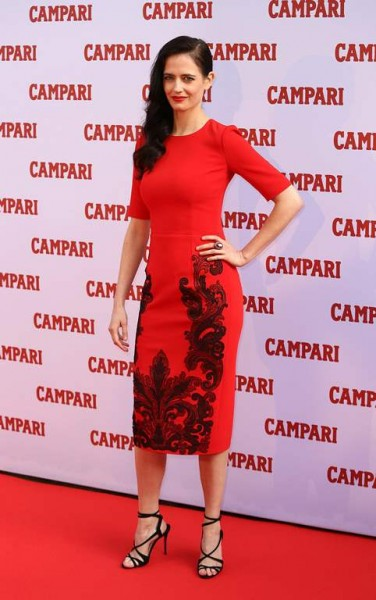 Eva Green - Launch of the Campari Calendar 2015 015