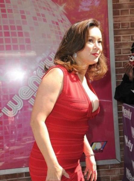 Дженнифер Тилли перед съемками в тв-шоу