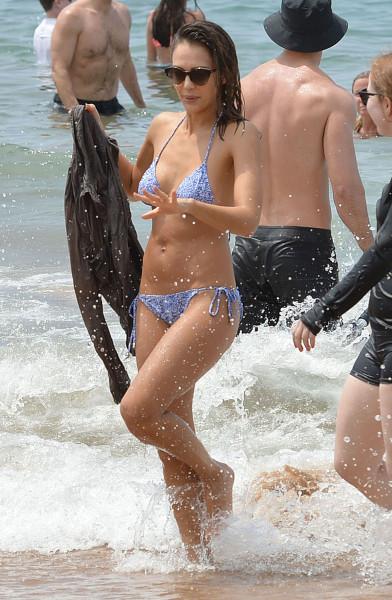 Джессика Альба в бикини