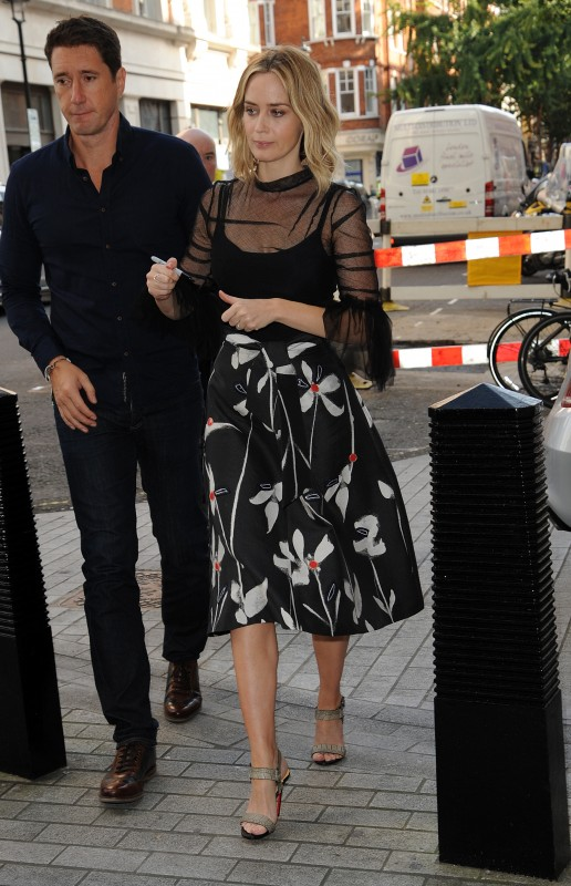 Эмили Блант в Лондоне