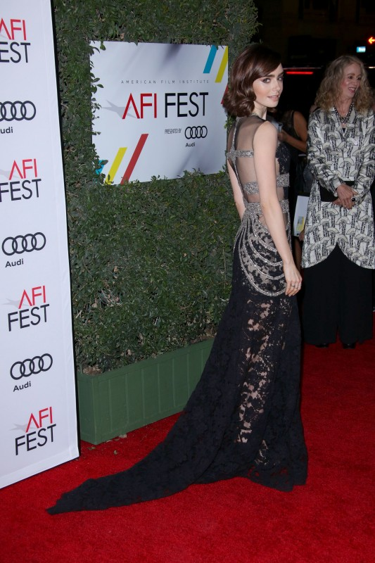Лили Коллинз на AFI Fest