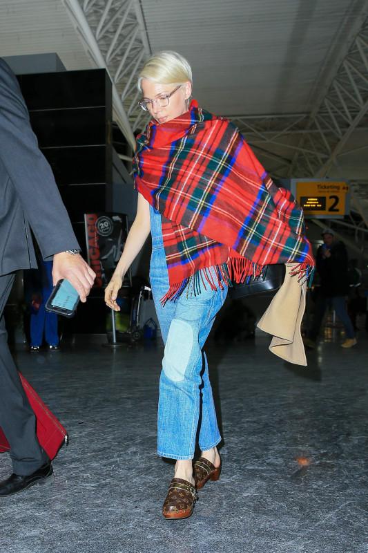 Мишель Уильямс в JFK