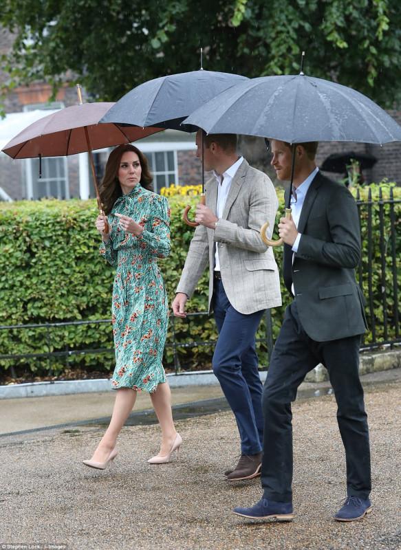 Принцы Уильям и Гарри почтили память принцессы Дианы