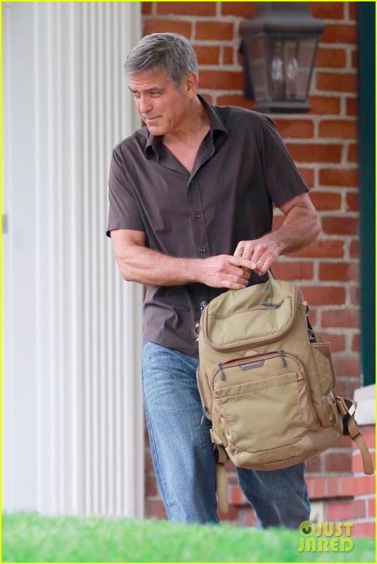 Джордж Клуни в ЛА