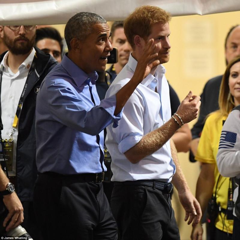 Принц Гарри и Барак Обама на Invictus Games