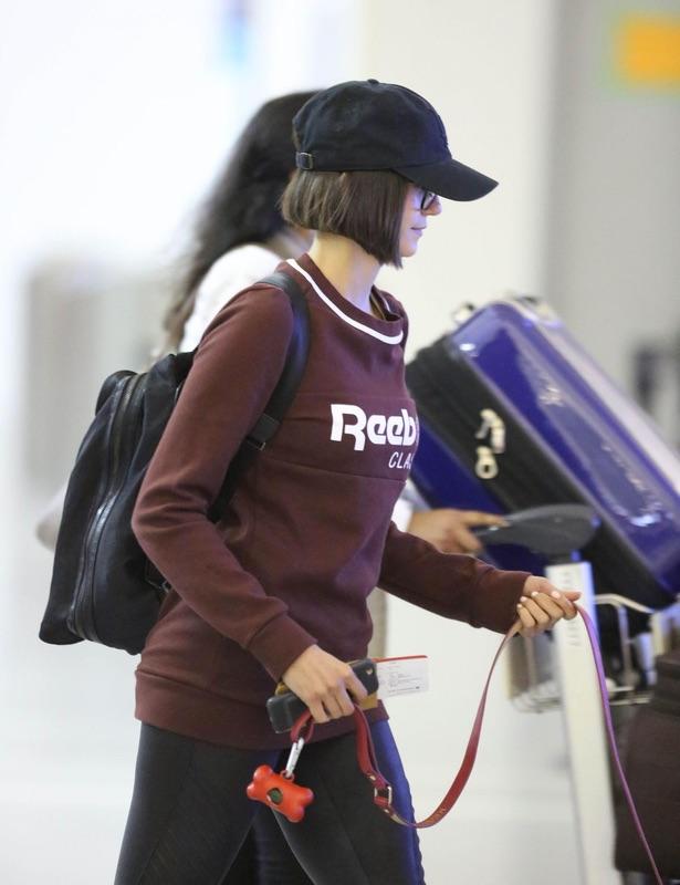 Нина Добрев прилетела в Канаду