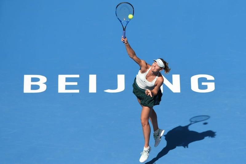 Мария Шарапова на China Open