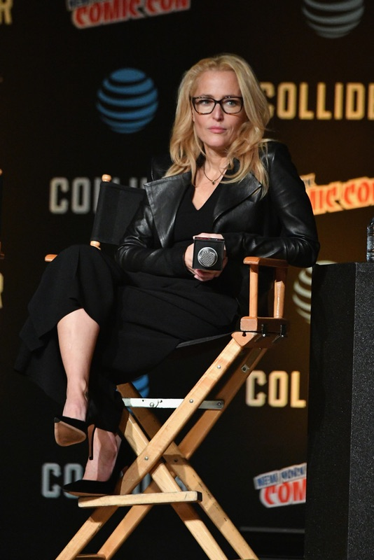 Секретные материалы на Comic Con в НЙ